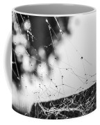 Dew Covered Web Coffee Mug