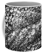Dew Drops On Leaf Coffee Mug