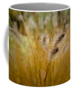 Dew On Ornamental Grass No. 4 Coffee Mug