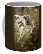 Dewdrops On A Web Coffee Mug