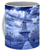 deZwaan Holland Windmill in Delft Blue Coffee Mug