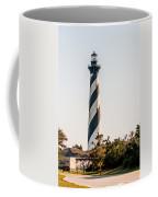 Diagonal Black And White Stripes Mark The Cape Hatteras Lighthou Coffee Mug