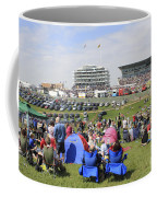 Diamond Jubilee Weekend At The Derby Horse Race On Epsom Downs  Coffee Mug