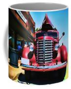 Diamond T Truck - Tomato Red Coffee Mug