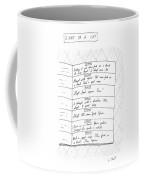 Diary Of A Cat: Coffee Mug