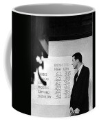 Dick Mayers Weather Cast Kvoa Tv Tucson Arizona Circa 1964 Coffee Mug