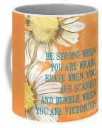 Dictionary Floral 2 Coffee Mug by Debbie DeWitt