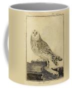 Die Stein Eule Or Church Owl Coffee Mug