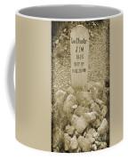 Died 1885 Tomstone Arizona Coffee Mug