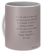Different Drummer Coffee Mug
