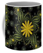 Digital Flowers Coffee Mug