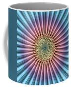 Digital Mandala Flower Coffee Mug