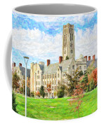 Digital Painting Of University Hall Coffee Mug