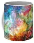 Digital Watercolor Abstract Coffee Mug