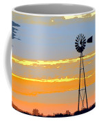 Digital Windmill-horizontal Coffee Mug