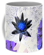 Digitally Altered Water Lily Coffee Mug