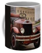 Dillon Montana Vintage Fire Truck Coffee Mug