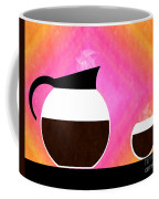 Diner Coffee Pot And Cup Sorbet Coffee Mug