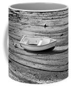 Dinghy At Low Tide Coffee Mug