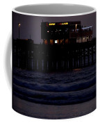 Dinner At The Pier Coffee Mug