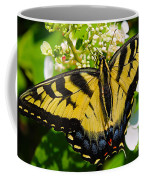 Dinner For The Swallowtail Coffee Mug