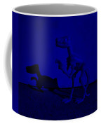 Dino Dark Blue Coffee Mug