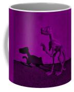 Dino Dark Purple... Barney Coffee Mug