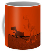 Dino Orange Coffee Mug