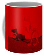 Dino Red Coffee Mug