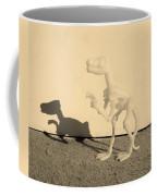 Dino Sepia Coffee Mug