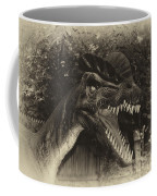 Dino's At The Zoo Come Here Cameraman In Heirloom Finish Coffee Mug