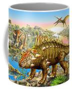 Dinosaur Panorama Coffee Mug