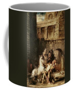 Diomedes Devoured By His Horses Coffee Mug