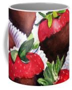 Dipped Strawberries Coffee Mug
