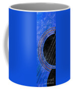 Diptych Wall Art - Macro - Blue Section 1 Of 2 - Giants Colors Music - Abstract Coffee Mug