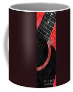 Diptych Wall Art - Macro - Red Section 2 Of 2 - Giants Colors Music - Abstract Coffee Mug