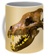 Dire Wolf Skull Fossil Coffee Mug