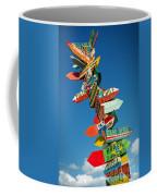 Directions Signs Coffee Mug