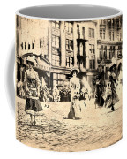 Directoire Gown - Philadelphia Mummers 1909 Coffee Mug