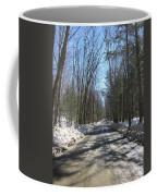Dirt Road In March Coffee Mug