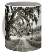 Dirt Road On Coosaw Plantation Coffee Mug