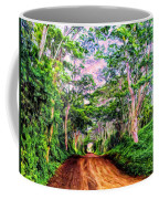 Dirt Road To Secret Beach On Kauai Coffee Mug