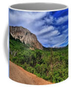 Dirt Roads And Aspen Forest In Colorado Coffee Mug