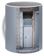Dirty Metal Door Coffee Mug