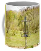 Disc Golf Basket 7 Coffee Mug