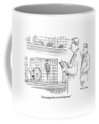 Discouraging Data On The Antidepressant Coffee Mug