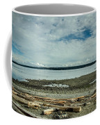 Low Tide Along The Discovery Passage Coffee Mug