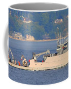 Discovery Bay Military Ops Ship Coffee Mug
