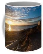 Discovery Park Lighthouse Sunset Coffee Mug