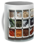 Dishes Of Spices Coffee Mug